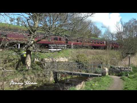 Keighley & Worth Valley Railway 17th of April 2011 part 1