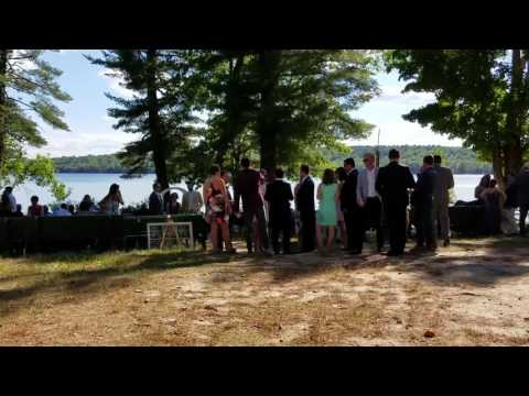 Beck wedding at camp seeds of peace Otisfield, ME 8-27-2016