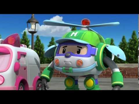 Робокар Поли - Трансформеры -  На чью сторону встать (мультфильм 13)