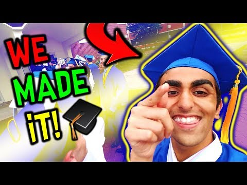 I FINALLY GRADUATED HIGH SCHOOL! (Graduation Vlog) (Rocky Hill High School) (Afterparty)