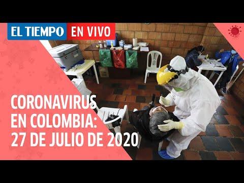 Coronavirus en Colombia: 8.125 casos nuevos y 252 fallecimientos por Covid-19