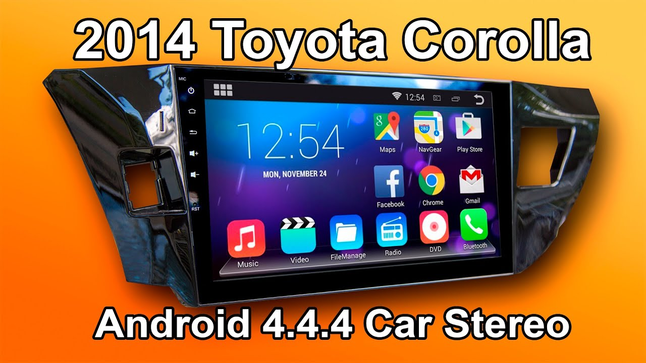 2014 2016 toyota corolla android car stereo review 10. Black Bedroom Furniture Sets. Home Design Ideas