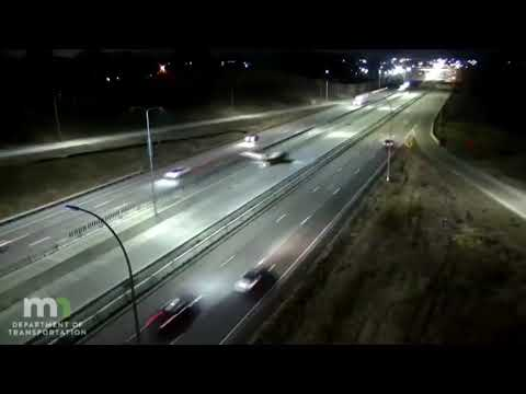 Watch: Plane makes emergency landing on Minnesota highway