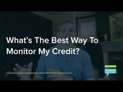 What's The Best Way To Monitor My Credit? – Credit Card Insider