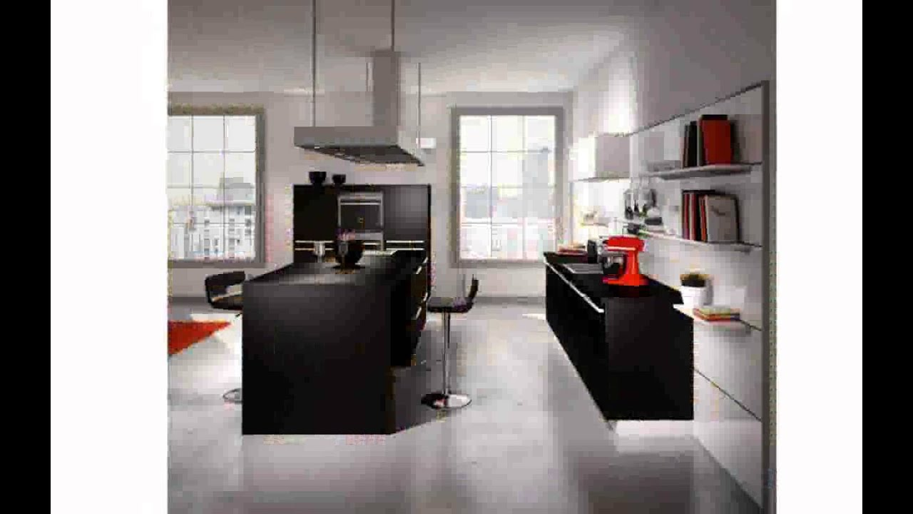 idee deco cuisine ouverte youtube. Black Bedroom Furniture Sets. Home Design Ideas