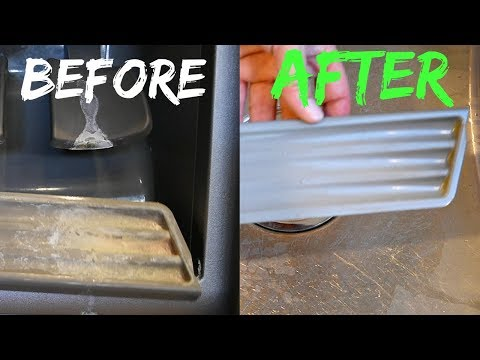 Hard Water Stain Removal, White Vinegar Uses In My Kitchen – Demo Video