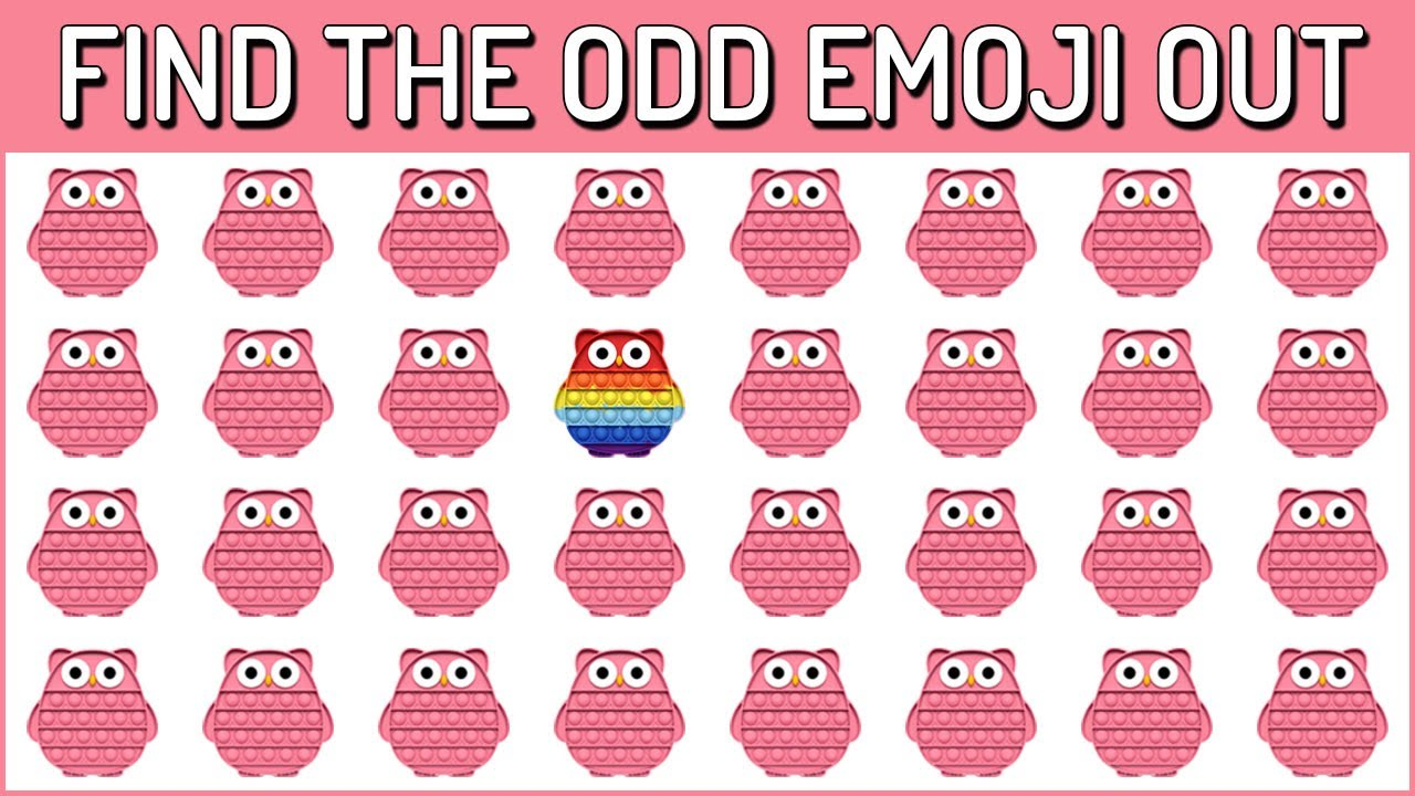 Download HOW GOOD ARE YOUR EYES #170 l Find The Odd Emoji Out l Emoji Puzzle Quiz