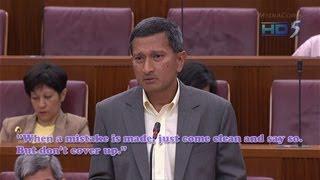Vivian Balakrishnan to Workers
