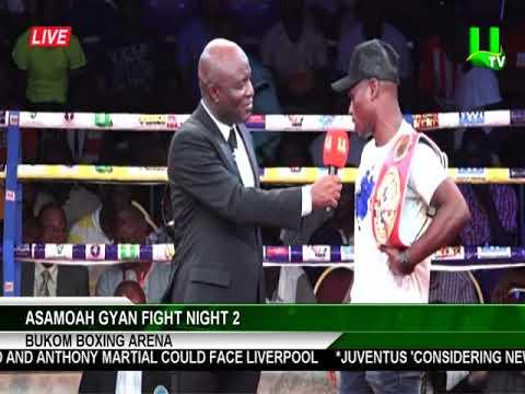 Asamoah Gyan Fight Night 2: Arrival of Emmanuel Tagoe and Vyacheslav Gusev