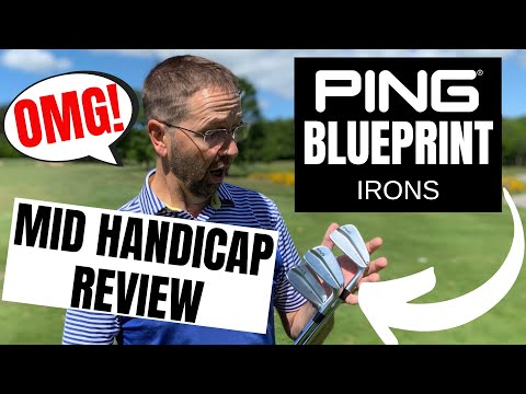 PING BLUEPRINT IRONS... CAN MID HANDICAP USE THESE BLADES?!?!