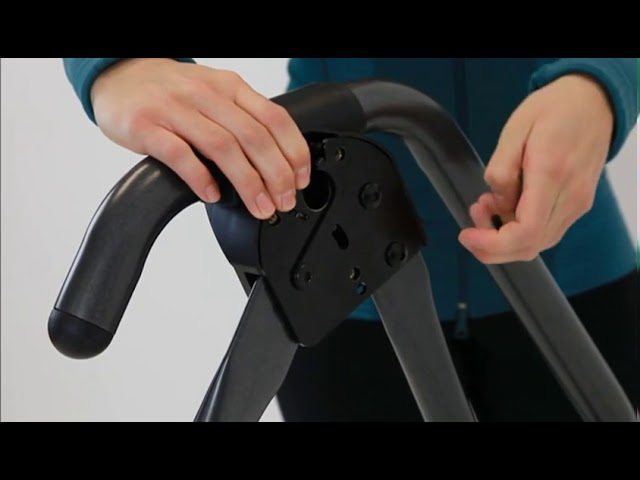 Step 1: Assemble A-Frame Base & Stretch Max Handles
