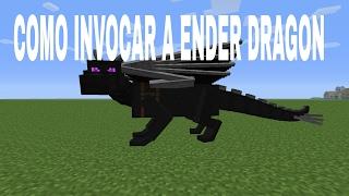 Como invocar a ender dragon no Minecraft Pe (Versão 1.1.0.9) Sem mods