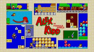 Alex Kidd in Miracle World Longplay Playstation 3
