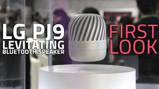 LG PJ9 Levitating Speaker First Look