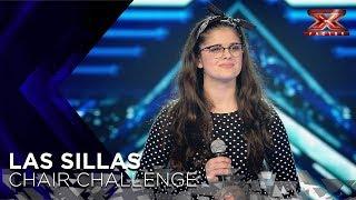 Sheila Martín canta por Amy Winehouse para conquistar a Risto Mejide | Sillas 1 | Factor X 2018