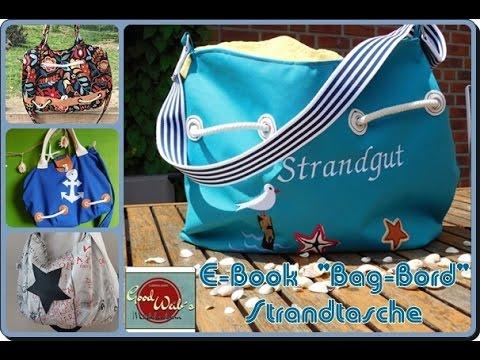 Strandtasche nähen- Bag-Bord von good weib\'s Mädchenram - YouTube