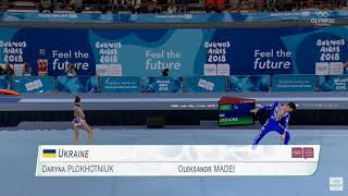 Youth Olympic Games 2018 - Acrobatic Gymnastics - Mixed Pair - Final - Ukraine
