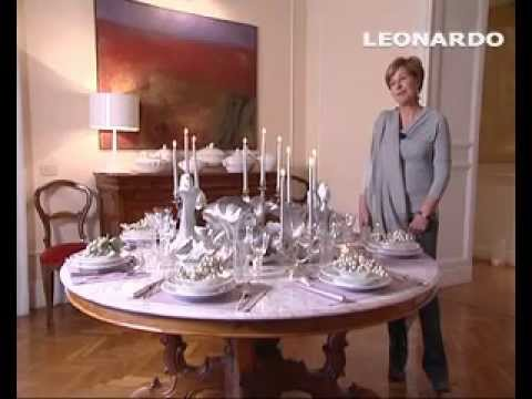 Natale, come apparecchiare una tavola perfetta - YouTube
