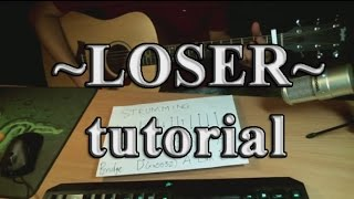 hướng dẫn Loser (Big Bang) - guitar tutorial very easy chords