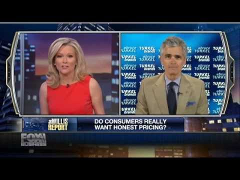 Bruce Turkel on FOX Business: Do consumers really like 'honest pricing'?