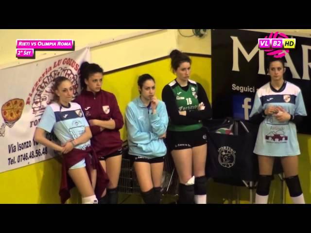 Rieti vs Olimpia Roma - 2° Set
