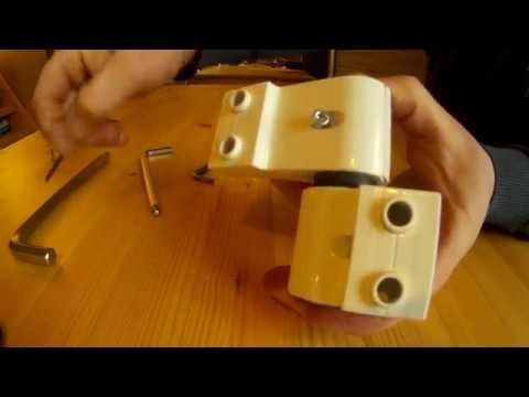 Как регулировать алюминиевые двери