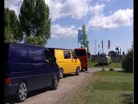 volkswagon T4 /t5 owners club DUBZPAC long weekend road trip to Amsterdam