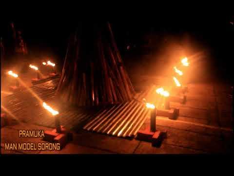 Api Unggun ( Pramuka MAN Model Sorong )