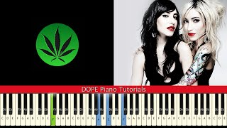 """How to Play """"You Ruin Me"""" by The Veronicas (Piano Tutorial)"""