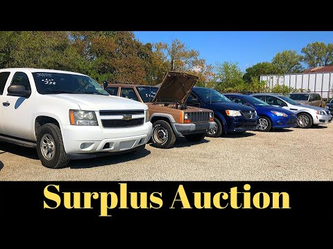 GOVERNMENT AUCTION - Inspection Day And Sale $$$     ** ALL ACCESS **