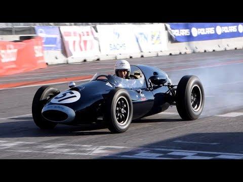 Cooper T51 F1 - Action, pure sound, flatout, crazy driving & camera car