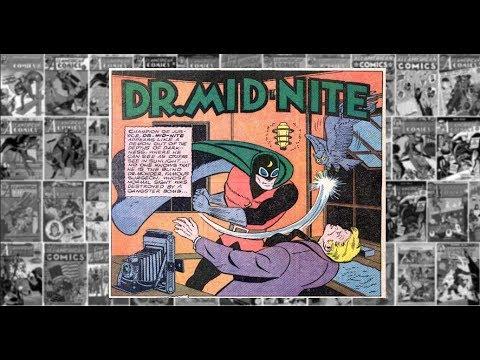"Dr. Mid - Nite: ""The Camera Crime"", All American Comics #33"