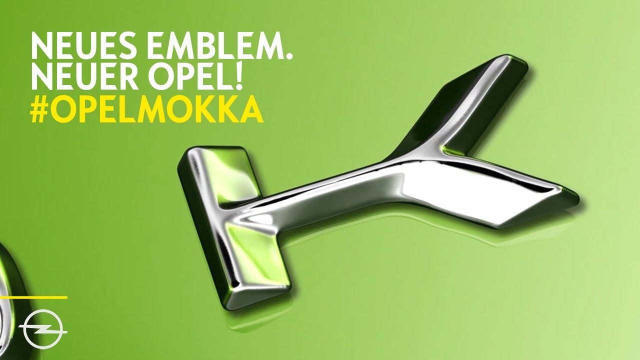 Neuer Opel Mokka – neues Emblem. Und ein Blick in die Zukunft!