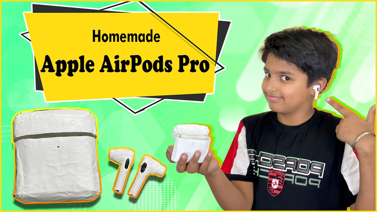 How to Make Apple AirPods Pro Using Paper and Cardboard | घर पे बनाओ Apple AirPods | Easy DIY Craft