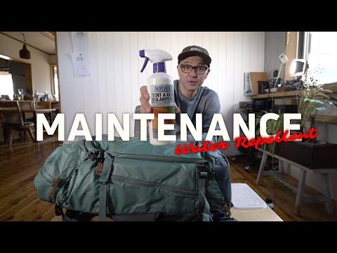 Shimoda Backpack Maintenance: Water Repellent (Nikwax / Gear Aid)