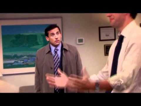 the office michael tells jim he is dating pam's mom