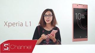 Schannel - Lần đầu cùng Mây mở hộp Xperia L1: Smartphone tầm trung thiết kế đậm chất Sony!