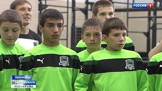 Владимир Путин посетил краснодарский «Колизей» и футбольную академию