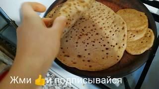 Базовый рецепт блинов без яиц, молока и белой муки
