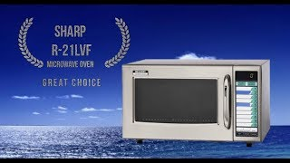 Microwave Oven Sharp R-21LVF The Best Review 2018