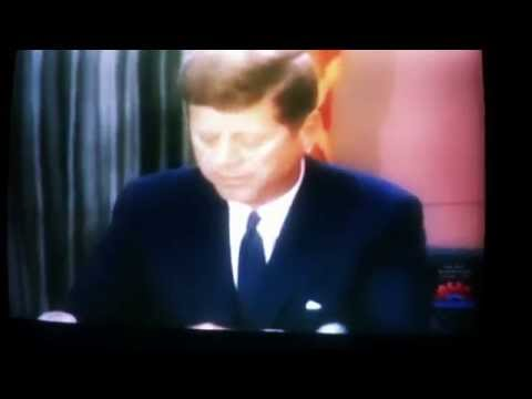 JFK stands up for black/African American rights