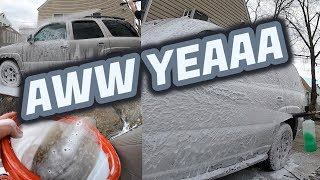Super Satisfying Foam Cannon Wash! Minus the Foam Cannon....