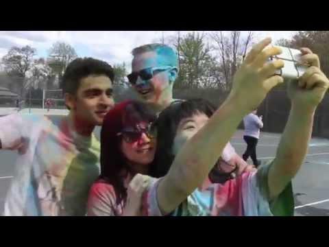 Rowan University Holi Festival 2015