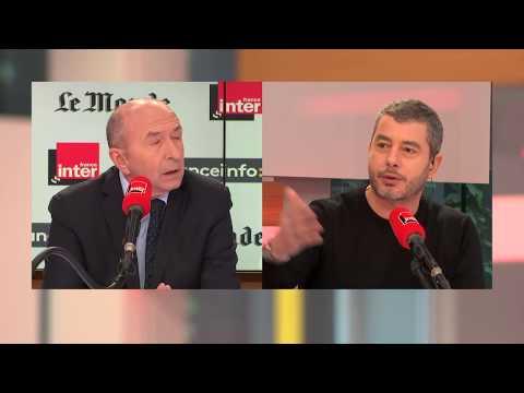 """Gérard Collomb : """"On ne peut pas avoir une augmentation exponentielle du nombre de migrants"""""""