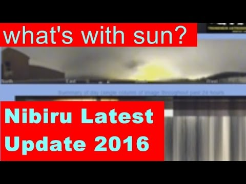 OMG! What's Nibiru Doing With The Sun? Sun in the South?Nibiru Planet X 2016 Update