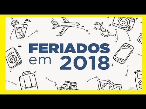 FERIADOS DE 2018