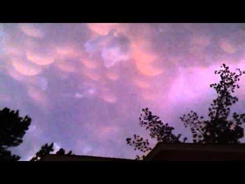 HAARP O' Mammatocumulus Clouds