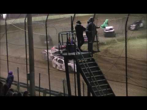 UMP Modified Heat #3 from Moler Raceway Park, November 12th, 2016.