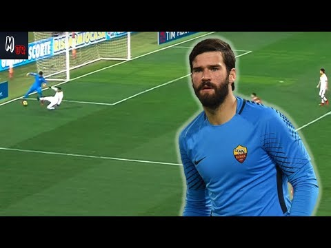 alisson becker the new world class sweeper gk player. Black Bedroom Furniture Sets. Home Design Ideas
