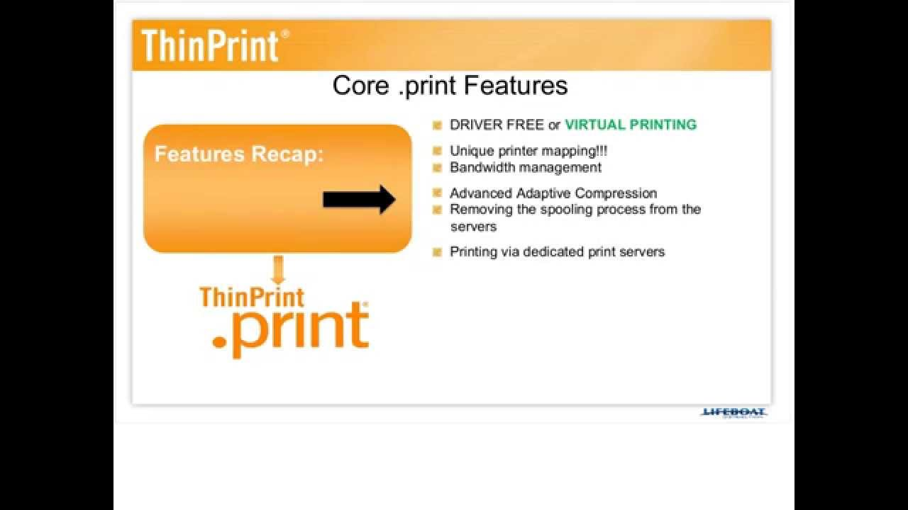 What Is Thinprint